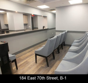 Rental Space East 74th St. NYC Waiting Room
