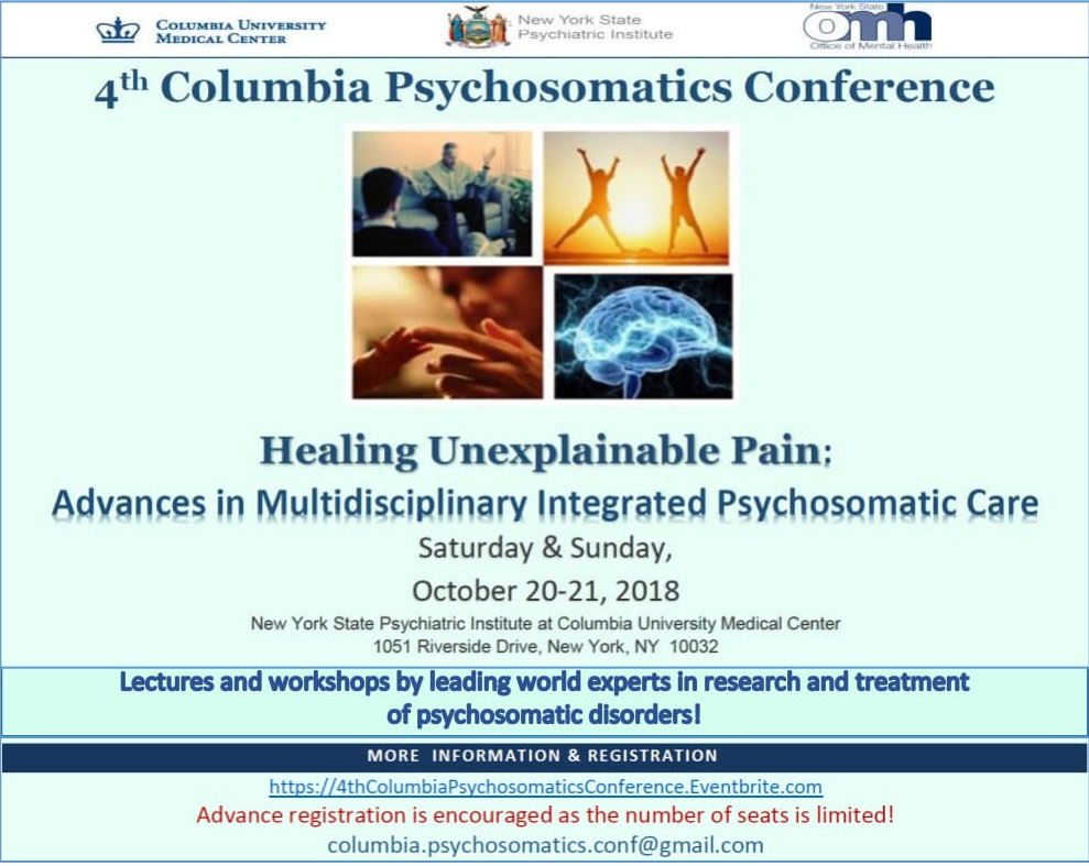 4th Columbia Psychosomatics Conference