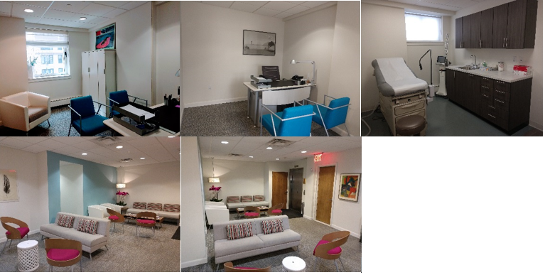 Pictures of office space for rent on Madison Ave