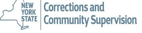NYS Corrections Logo