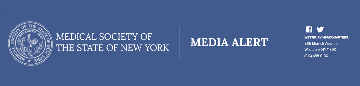 MSSNY Press Release Banner