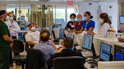 Nurses at Northwell Hospital