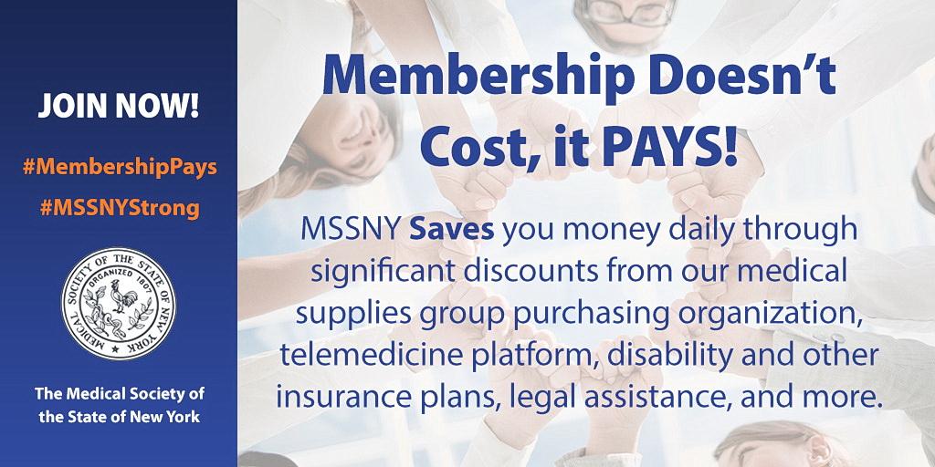 MMSSNY Membership Banner